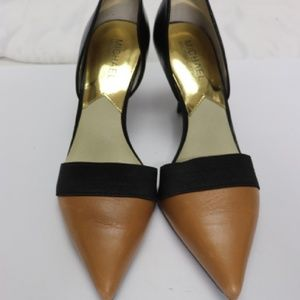 Michael Kors Hayley Two Tone Pumps Rare